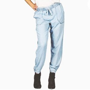 SUKO JEANS || Pull-On Tencel Baggy Pants